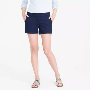J. Crew Chino Broken-in Blue and Black Shorts Lot